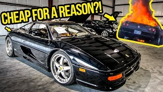 I'm Rebuilding A Dirt Cheap Ferrari F355 (Destroyed By FIRE)