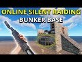 Download Video Online Silent Raiding Neighbours Bunker Base - Rust Solo Survival Gameplay