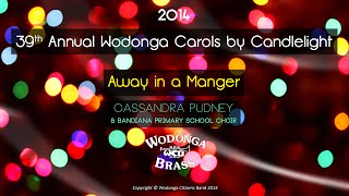 preview picture of video 'Wodonga Brass - Away in a Manger'