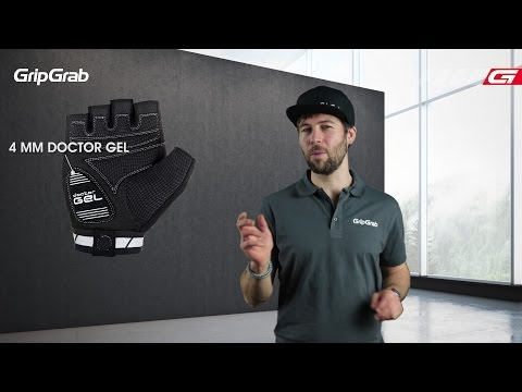 GripGrab WorldCup cykelhandsker sort/hvid video