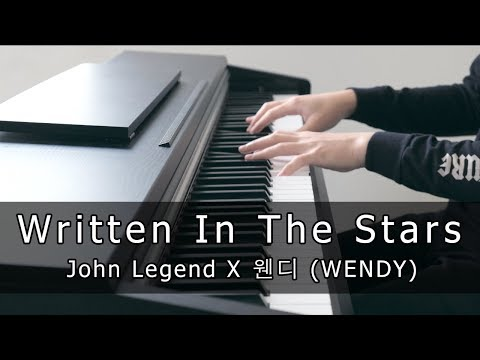 John Legend X 웬디 (WENDY) - Written In The Stars (Piano Cover By Riyandi Kusuma)