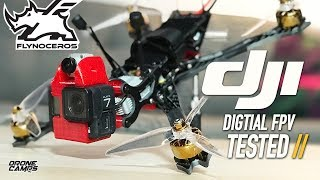 DJI DIGITAL FPV SYSTEM just changed the future of FPV - FREESTYLE // FIXED WING REVIEW