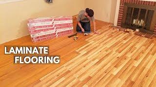 How To Install Laminate Flooring. BEGINNERS GUIDE -Jonny DIY