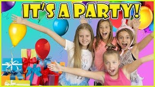 IT'S KAYLA'S 12TH BIRTHDAY PARTY! | We Are The Davises