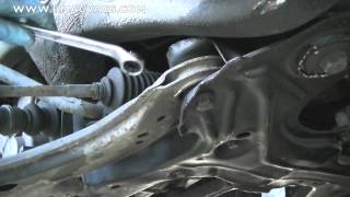 How to Remove a VW Lower Control Arm Wishbone