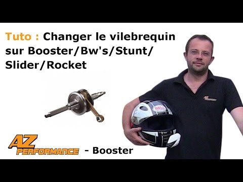 Changer le vilebrequin de son Booster / Stunt / Rocket / ...