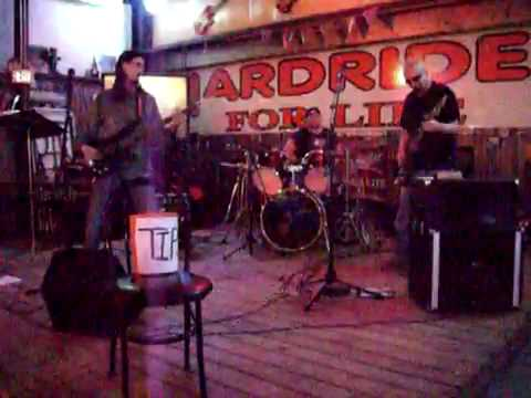 Ken Smith's cover band Electric Garage  SRV cover