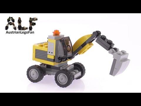 Vidéo LEGO Creator 31014 : La pelleteuse