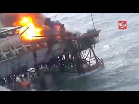 Αζερμπαϊτζάν: Δεκάδες νεκροί σε εξέδρα άντλησης πετρελαίου