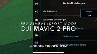DJI MAVIC 2 PRO FPV MODE - FPV Modus bei der Mavic - DJI first person view - 72 kmh - Drone footage