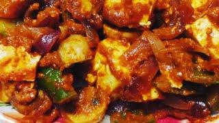 Paneer Mushroom Masala | Mashroom Paneer Masala Recipe   Daddy's Kitchen