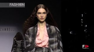 ALBERTO ZAMBELLI Milan Fashion Week Fall 2015 by Fashion Channel