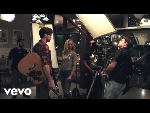 The Girl and The Dreamcatcher - Making the Video: Make You Stay