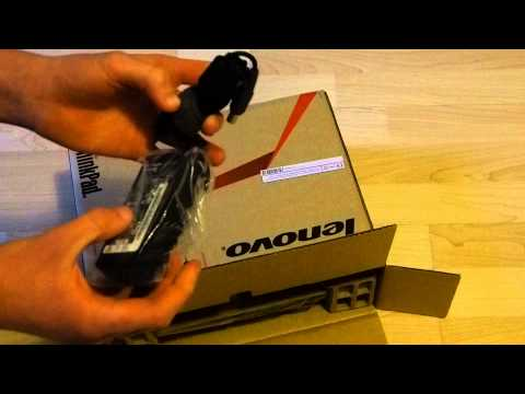 UNBOXING - Lenovo ThinkPad Edge E135 Notebook