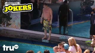 Impractical Jokers Cruise Special - Joey's Belly Flop Competition (Clip) | truTV