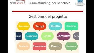 Finanziare progetti nella scuola: il Crowdfunding