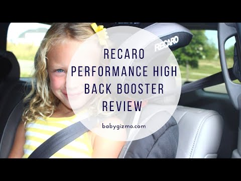 Recaro Performance High Back Booster Review