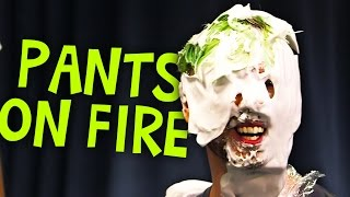 LIE AND PIE | Pants on fire