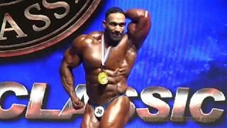 The Winners - 2018 Global Classic Macau Below 100kg Bodybuilding
