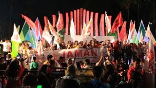 Acara Relawan Projo dalam Rangka Pemilihan Nomor Paslon