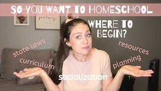 Homeschooling For Beginners | How To Start Homeschooling