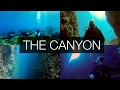 Diving deep in the Canyon -  Kas Turkey Gopro HD