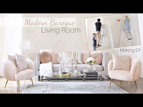 Get the Look! Modern Baroque Living Room Wohnzimmer mit Barock Flair by Pure Velvet Interior DIY