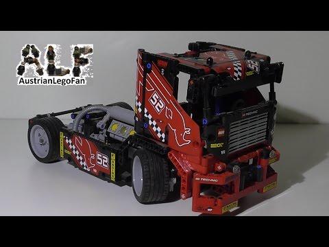 Vidéo LEGO Technic 8041 : Camion de course