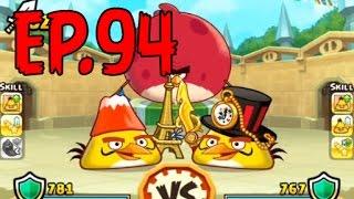 Angry Birds Fight! - ARENA CHUCK MASTER CUP - GOLDEN LIGHTNING HELMET (SS CHUCK) - EP94