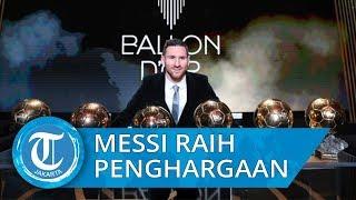 Lionel Messi Raih Penghargaan Ballon dOr yang Kelima, Hanya Indonesia Wakil Asia Tenggara yang Votin