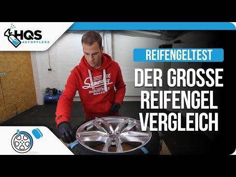 HQS Autopflege - Der große Reifengel Vergleich /TireWax /TireGel /KC PlastCare /Gyeon Tire