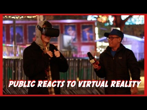 Public Reacts To SCARY VIRTUAL REALITY