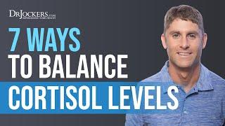 7 Ways to Balance Cortisol Levels