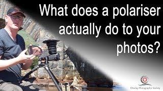 What does a polarising filter actually do to your photos?