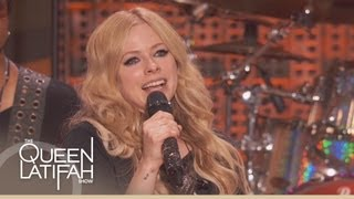 Avril Lavigne Performs 'Rock n Roll' on The Queen Latifah Show