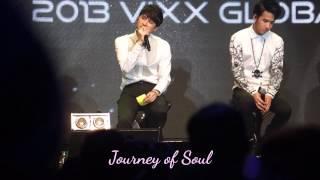 [FANCAM] 131020 VIXX SHOWCASE IN MY :: I Miss You - Ken & Leo