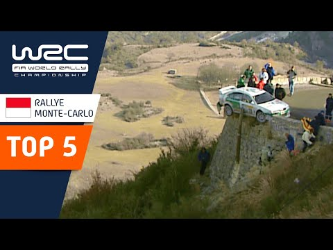 WRC 記憶に残るラリーモンテカルロで起きたクラッシュシーンを5つ紹介する動画