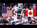 Canada vs USA | Highlights | 2017 Gold Medal Game IIHF World Junior Championship | Jan. 5 , 2017