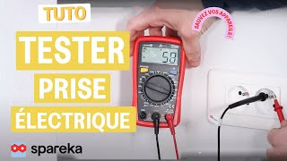 Comment tester une prise électrique avec un multimètre