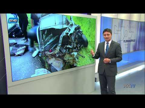 Morre segunda vítima de acidente entre carro e ônibus em Alfredo Wagner