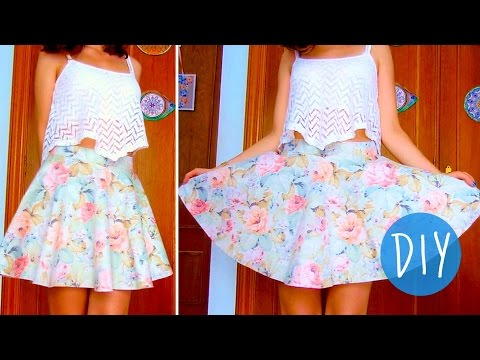 Circle skirt tutorial