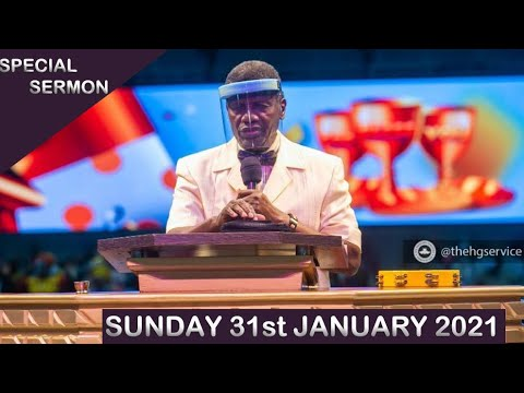 RCCG 31st January 2021 Sunday Service with Pastor E.A Adeboye