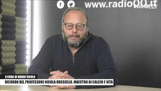 Ricordo del Professore Nicola Rossiello, maestro di calcio e vita