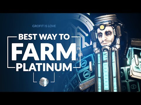 Warframe | Best Way to Farm PLATINUM