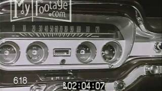 1960 Pontiac Promotional Film - New Models and Options