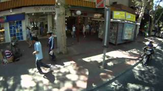 preview picture of video 'Recorriendo el centro de Mendoza-Argentina. Driving thru downtown Mendoza.'