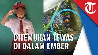 Siswi SD di Bogor yang Ditemukan di Dalam Ember Diduga Dibunuh Tukang Bubur