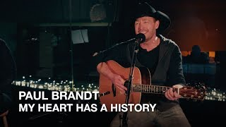 Paul Brandt | My Heart Has A History | First Play Live