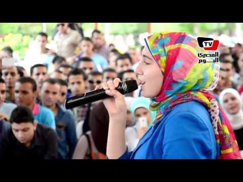 احتفالات جامعة المنصورة بالعام الدراسي الجديد