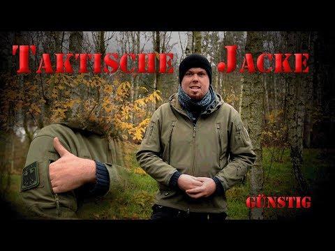 Günstige Taktische Softshell Jacke/ KEINE 50 Euro/ Review/ 2017